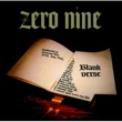 Zero Nine Blank Verse