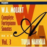 Tuija Hakkila Sonata in A major K331 : I Tema [Andante grazioso]  - Variations I-VI