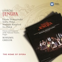 Jindrich Jindrák/Vilém Pribyl/Libuse Domanínská/Orchestra of The National Theatre Prague/Bohumil Gregor Jenufa, ACT ONE: Co to robís, mládku? (Miller/Laca/Jenufa)