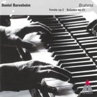 Daniel Barenboim Brahms : Piano Sonata in F minor Op.5 : V Finale - Allegro moderato, ma rubato