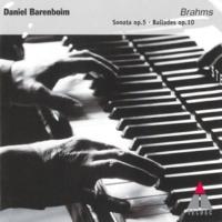 Daniel Barenboim Brahms : 4 Ballades Op.10 : No.1 in D minor, 'Edward'
