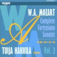 Tuija Hakkila Sonata in C major K309 : I Allegro con spirito