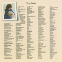 Dory Previn Lover Lover Be My Cover