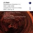 Ton Koopman & Amsterdam Baroque Orchestra Bach, JS : Brandenburg Concertos Nos 1 - 3 & Flute Concerto  -  Apex