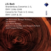 Jean-Pierre Rampal Bach, JS / Arr Radeke : Flute Concerto in E minor BWV1059 & 1035 : II Alla siciliana - Adagio