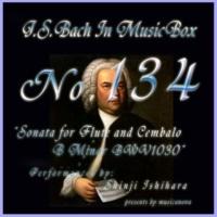 石原眞治 フルートとチェンバロの為のソナタ ロ短調 BWV1031 第四楽章 アレグロ