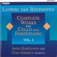 Anssi Karttunen and Tuija Hakkila Sonata for Cello and Fortepiano Op.64 [String Trio Op.3] : V Menuetto - Minore