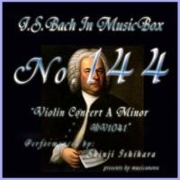 石原眞治 ヴァイオリン協奏曲第一番 イ短調 BWV1041 第二楽章 アンダンテ