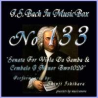 石原眞治 ヴィオラ・ダ・ガンバとチェンバロの為のソナタ ト短調 BWV1029 第二楽章 アダージョ