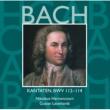 Various Artists Bach, JS : Sacred Cantatas BWV Nos 112 - 114