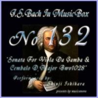 石原眞治 ヴィオラ・ダ・ガンバとチェンバロの為のソナタ ニ長調 BWV1028 第二楽章 アレグロ