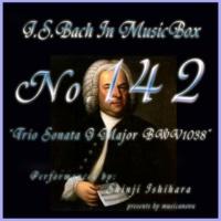 石原眞治 トリオソナタ ト長調 BWV1038 第二楽章 ビバーチェ