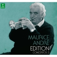 Maurice André Heptade for Trumpet and Percussion : III Cantante