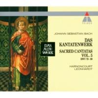 """Gustav Leonhardt Cantata No.88 Siehe, ich will viel Fischer aussenden BWV88 : IV Recitative & Aria - """"Jesus sprach zu Simon"""" [Tenor, Bass]"""