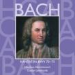 Various Artists Bach, JS : Sacred Cantatas BWV Nos 70 - 73