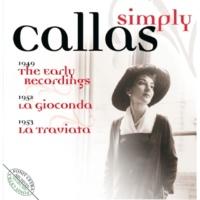 """Gabriele Santini & Maria Callas La Traviata : Act 1 """"Libiam ne' lieti calici"""" [Alfredo, Chorus, Violetta]"""