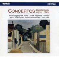 Tapiola Sinfonietta Concerto No.1 for Piano, Trumpet and String Orchestra Op.35 : I Allegretto