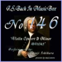石原眞治 ヴァイオリン協奏曲第三番 ニ短調 BWV1043 第一楽章 ビバーチェ