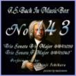 石原眞治 バッハ・イン・オルゴール143 / トリオソナタ 変ロ長調 BWV1039 と トリオソナタ ヘ長調 BWV1040