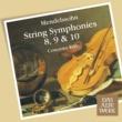 Concerto Köln Mendelssohn : String Symphonies Nos 8 - 10 (DAW 50)