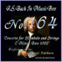 石原眞治 2台のチェンバロのための協奏曲 ハ短調 BWV1062 第三楽章 アレグロ・アッサイ