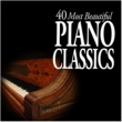 Various Artists 40 Most Beautiful Piano Classics