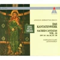 """Gustav Leonhardt Cantata No.184 Erwünschtes Freudenlicht BWV184 : III Recitative - """"So freuet euch, ihr auserwählten Seelen"""" [Tenor]"""