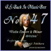 石原眞治 ヴァイオリン協奏曲第四番 イ短調 BWV1044 第三楽章 アラブレーベ