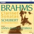 Anna-Maija Korsimaa Brahms : Clarinet Sonatas - Schubert : Der Hirt auf dem Felsen