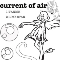 current of air LIME STAR