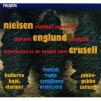 Kullervo Kojo and Finnish Radio Symphony Orchestra Clarinet Concerto :  I Allegro moderato