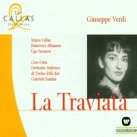 """Gabriele Santini & Maria Callas La Traviata : Act 2 """"Dammi tu forza, o cielo... Amami Alfredo""""  [Violetta, Annina, Alfredo]"""