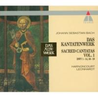 """Gustav Leonhardt Cantata No.9 Es ist das Heil uns kommen her BWV9 : II Recitative - """"Gott gab uns ein Gesetz"""" [Bass]"""