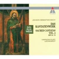 """Gustav Leonhardt Cantata No.75 Die Elenden sollen essen BWV75 : III Aria - """"Mein Jesus soll mein alles sein"""" [Tenor]"""
