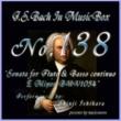 石原眞治 バッハ・イン・オルゴール138 / フルートと通奏低音の為のソナタ ホ短調 BWV1034