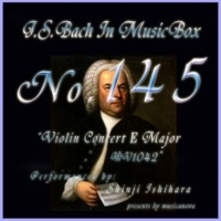 石原眞治 ヴァイオリン協奏曲第二番 ホ長調 BWV1042 第二楽章 アダージョ