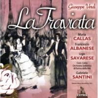 """Gabriele Santini & Maria Callas La Traviata : Act 1 """"Oh qual pallor!...""""  [Violetta, Alfredo]"""