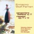 Erik Battaglia Canzoniere Italiano Op. 17- Rispetti Opp. 11 E 12