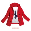 スネオヘアー 赤いコート