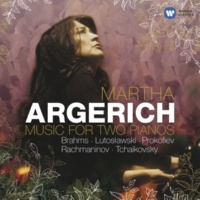 Martha Argerich Variations on a Theme by Haydn for 2 Pianos, Op. 56b: V. Variation IV (Andante) [Live]