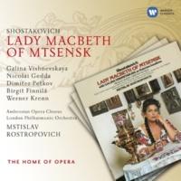 """Mstislav Rostropovich Lady Macbeth of Mtsensk, Op. 29, Act 2: """"Shto znáchit stárost' (Boris)"""