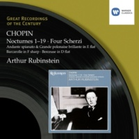 Artur Rubinstein Scherzos: No. 2 in B flat minor Op. 31