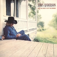 JOHN ANDERSON When A Lady Is Cloudin' Your Vision