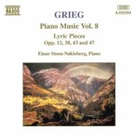 アイナル・ステーン=ノックレベルグ(ピアノ) グリーグ:抒情小品集第3巻Op.43-愛の歌