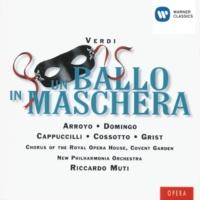 Placido Domingo/Gwynne Howell/Richard Van Allan/Martina Arroyo/New Philharmonia Orchestra/Riccardo Muti Un ballo in maschera, Act III, Scene 1: D'una grazia vi supplico (Renato/Samuel/Tom/Amelia)