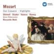 "William Shimell/Samuel Ramey/Carol Vaness/Wiener Philharmoniker/Riccardo Muti Don Giovanni, K. 527, Act 2 Scene 2: No. 15, Terzetto, ""Ah! taci, ingiusto core!"" (Donna Elvira, Leporello, Don Giovanni)"
