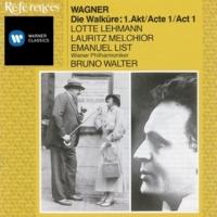 Lotte Lehmann/Lauritz Melchior/Emanuel List/Wiener Philharmoniker/Bruno Walter Die Walküre (1988 Remastered Version), ACT 1, Scene 1: Wess' Herd dies auch sei (Siegmund)