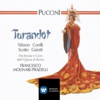 """Coro del Teatro dell'Opera, Roma/Orchestra del Teatro dell'Opera, Roma/Francesco Molinari Pradelli Turandot, Act 2 Scene 2: """"Ai tuoi piedi ci prostriam"""" (La Folla)"""