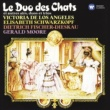 Victoria de los Angeles/Elisabeth Schwarzkopf/Dietrich Fischer-Dieskau/Gerald Moore The Cats' Duet and other arias, duets and trios