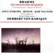 Herbert von Karajan/Anna Tomowa-Sintow/José Van Dam/Wiener Singverein/Berliner Philharmoniker Brahms: Ein Deutsches Requiem Op 45